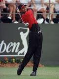 Tiger Woods w akcji przy Doral Country Club fotografia stock