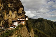 The Tiger'S Nest, Monastery Royalty Free Stock Image