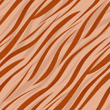 Tiger or zebra wild skin fur leather seamless pattern background Royalty Free Stock Photography