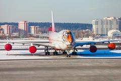 Tigergesicht Boeing-Flugzeug Lizenzfreies Stockbild
