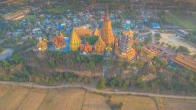 Tigerhöhlentempel in Kanchanaburi Stockfotografie