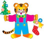 Tigerjahr lizenzfreie abbildung