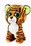 Tigerjunges, ein weiches Spielzeug Stockfotografie
