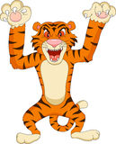 Tigerkarikatur Lizenzfreie Stockfotos
