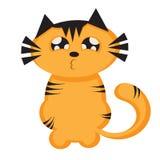 Tigerkarikatur Lizenzfreies Stockfoto