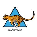 Tigerlogo Lizenzfreie Stockbilder