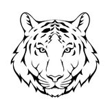 Tigerlogo Stockfotos