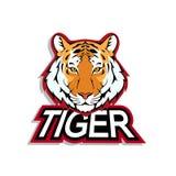 Tigerlogo Lizenzfreies Stockbild