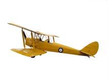 tigermoth самолета стоковые изображения rf