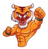 Tigermuskel vektor abbildung