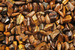 Tigers eye gem Royalty Free Stock Image