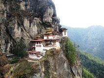 Tigers Nest Royalty Free Stock Photography