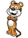 Tigertecknad film Arkivfoto