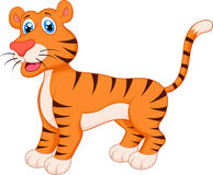 Tigertecknad film Royaltyfri Fotografi