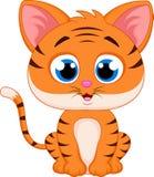 Tigertecknad film Royaltyfri Foto