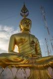 Tigertempel goldener Buddha Lizenzfreie Stockfotografie