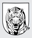 Tigerweg stock abbildung