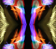 Tiges au néon Photos libres de droits
