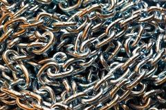 Tiges d'un réseau en métal Image stock