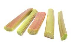 Tiges de rhubarbe Image libre de droits