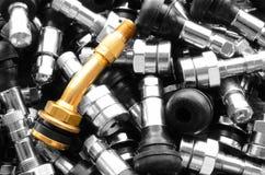 Tiges de valve de pneu Photos stock
