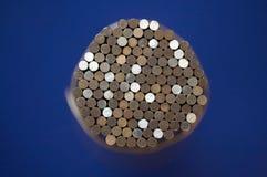 Tiges en acier Image stock