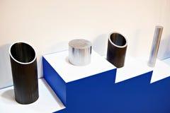 Tiges en métal pour l'industrie métallurgique Photographie stock libre de droits