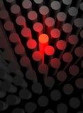 tiges rouges à fonte Photographie stock libre de droits
