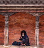 Tiggare Nepal Arkivfoton