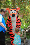 Tigger at Disneyland Stock Photography