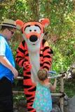 Tigger en Disneyland Fotografía de archivo