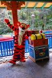 Tigger von Winnie the Pooh Stockbild