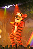 Tigger from Winnie the Pooh. MARNE-LA-VALLEE, FRANCE - August 23, 2006 - Tigger in the Winnie the Pooh and Friends, too! show in Fantasyland in Disneyland Resort Royalty Free Stock Image