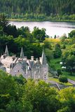 Tigh Mor with Loch Achray in the background is a luxury property Royalty Free Stock Photos