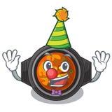 Tighe kimchi клоуна над таблицей мультфильма иллюстрация штока