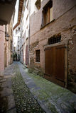Tight alley Royalty Free Stock Image