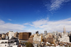 Meatpacking & Midtown Manhattan Skyline New-York Royalty Free Stock Image