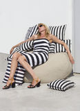Tight dress and cushions Royalty Free Stock Image