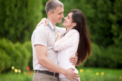 Tight embrace Stock Images