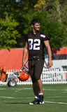Tight end Cleveland Browns di Gary Barnidge NFL Immagine Stock Libera da Diritti