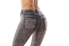 Tight jeans Royalty Free Stock Image