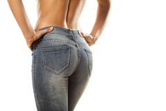 Tight jeans Royalty Free Stock Photos
