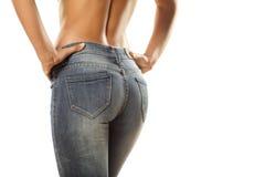 Tight jeans Royalty Free Stock Photos