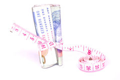 Tight money concept Stock Photography