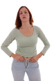 The tight pants Royalty Free Stock Image