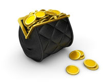 Tight Purse Royalty Free Stock Image