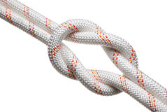 Tight reef-knot Royalty Free Stock Photos