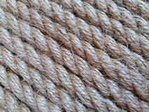 Tight rope. With horizontal orientation of fibers Stock Photo