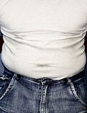 Tight tummy Stock Photos