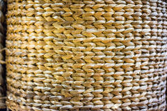 Tight wicker weave Royalty Free Stock Image